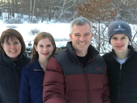 Volunteer Spotlight:  Kim, Stephen, Andrew, and Lydia Olivieri