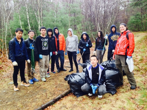 Over 50 Volunteers Help Out On Park Serve Day