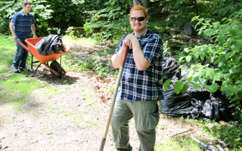 Freemasons Restore East Path on June 28th