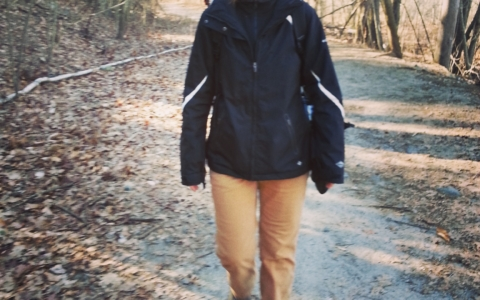 Leading Babes in the Woods hikes