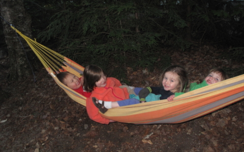 Babes in the Woods…Camping?