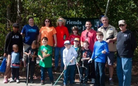 Fall Traditions at the Fells: National Public Lands Day COASTSWEEP