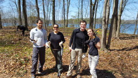 Park Serve Day at the Fells 2016