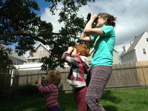 How to Go Birding with Little Kids