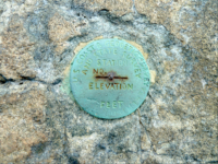 Geodetic Survey Marker, Rock Circuit Trail