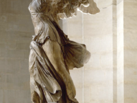 The Goddess of Victory -- also called Nike of Samothrace [Source: Louvre Museum]