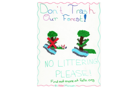 "Congratulations to the Winners of our ""Keep It Clean"" Poster Contest!"